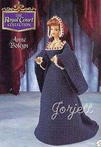 Anne Boleyn, Royal Court Collection, Annies crochet