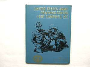 1971 COMPANY B US ARMY TRAINING CENTER FORT CAMPBELL KY