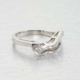 14k White Gold Diamond Heart Custom Engagement Ring Wedding Set