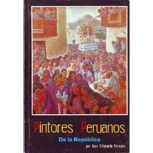Pintores Peruanos de la Republica: Books