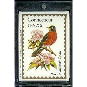 1991 Bon Air Connecticut Stamp Replica Trading Card #7