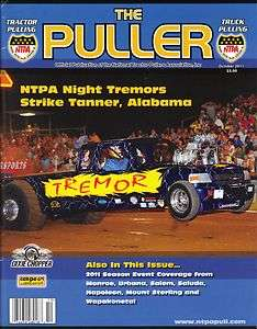 The Puller NTPA Truck Tractor Pulling Magazine Oct 2011