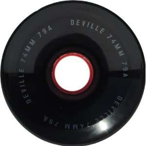 Deville Rat Rod 79a 74mm Skate Wheels: Sports & Outdoors