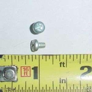 7500 ea M3 .5 x 4 mm Phillips Pan Head Screws Zinc