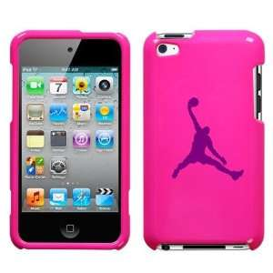 APPLE IPOD TOUCH ITOUCH 4 4TH PURPLE AIR JORDAN LOGO ON A