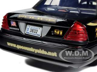 2010 FORD CROWN VICTORIA COUNTRYSIDE POLICE INTERCEPTOR 1/24 BY