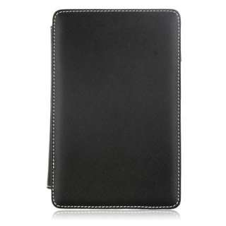One size fits all Leather Case for 7 Inch MID/GPS Tablet Color Black