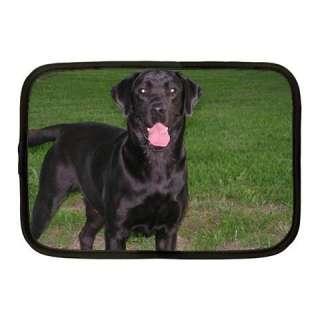 Black Lab Puppy Dog 10 Netbook Sleeve Laptop Bag Case