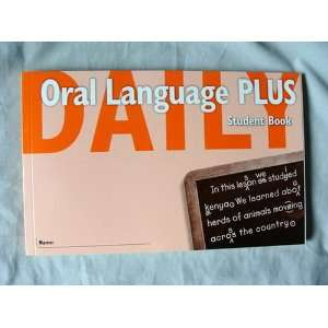 Oral Language Plus Student Book Grade 4 (9780669476002) GREAT SOURCE