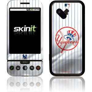 New York Yankees Home Jersey skin for T Mobile HTC G1