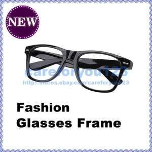 Fashion Cool Unisex Glasses Frame Plastic Frames Nerd Decoration