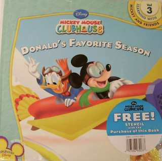 disney mickey mouse clubhouse donald s favorite season book with
