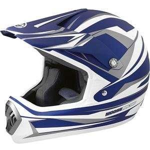 Moose Racing M1 Helmet   2009   Large/Blue/White/Gray