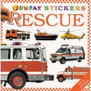 Rescue Vehicle Sticker Book (Vehicle Sticker Books