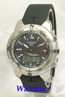 TISSOT T TOUCH LITE WEIGHT TITANIUM MULTIFUNCTION SAPPHIRE CRYSTAL