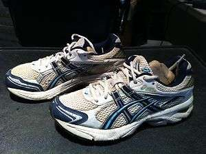 ASICS Speva Gel Womens Shoe Size 8 White Blue