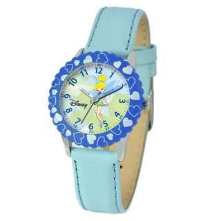 Disney Kids Tinker Bell Time Teacher Watch in Blue