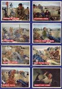 1956 Topps Davy Crockett Complete 80 Card Set Nice