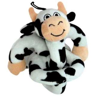 Loopies Moo Sound Chip Loopies Dog Toy in Black/White Dogs
