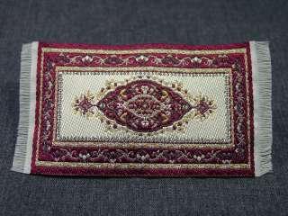 Heidi Ott Dollhouse Miniature Rug Woven Rug Floor Carpet #23