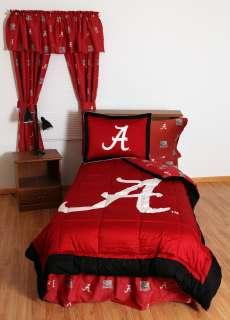 Crimson Tide Bed In a Bag  Comforter Shams Bed Skirt Sheet Set