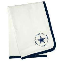 Baby Fanatic Dallas Cowboys Cotton Receiving Blanket