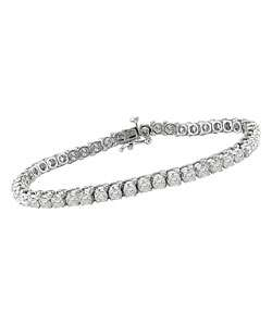 White Gold 6 ct Diamond Tennis Bracelet (G H, SI1 SI2)