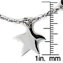 Stainless Steel Multi charm Toggle Bracelet