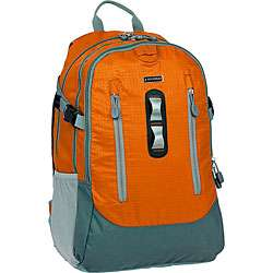 World 3 compartment Orange Laptop Backpack