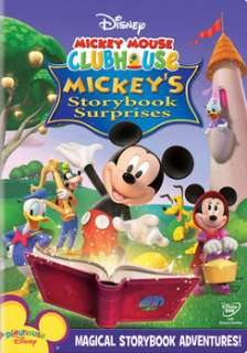Mickey Mouse Clubhouse   Mickey`s Storybook Surprises (DVD