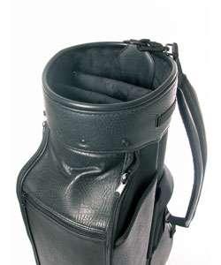 Belding SP987 Black Leather Staff Golf Bag