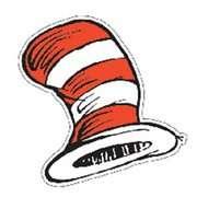 Dr Seuss The Cats Hat Cut outs Eureka Dr Seuss The Cats Hat Cut outs
