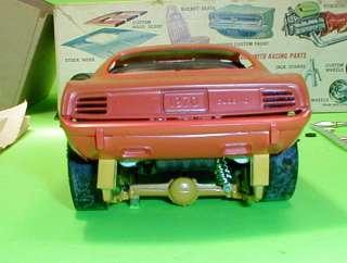 MPC 1970 Plymouth Barracuda Cuda Annual Original 70 Issued Model Car