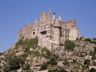 Castle Dating from the 14th Century, St. Michaels Mount, Cornwall