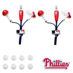 MLB Philadelphia Phillies Headphones (Case of 2)