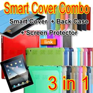 magnetic Leather Smart Cover Slim Case Stand For iPad 2