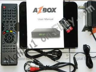 Receiver AZBOX Bravissimo Twin HD 1080 HIGH DEFINITION FTA Bravisimo
