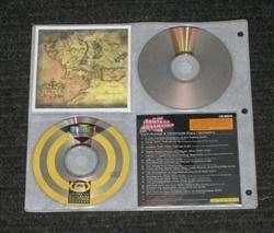 Diamond CD DVD Metal 3 Ring Storage Wallet Binder Case 1056