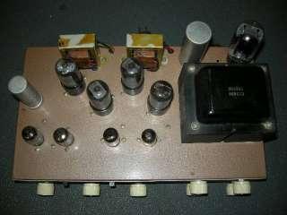 1960S VINTAGE REALISTIC STA 24 STEREO TUBE AMPLIFIER 6V6PP  