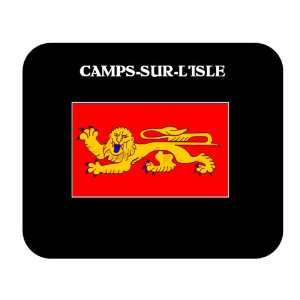 Aquitaine (France Region)   CAMPS SUR LISLE Mouse Pad