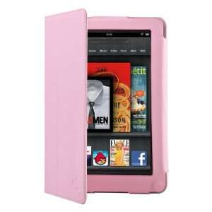 CE Compass Pink PU Leather Folio Cover Case Stand for