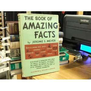 he Book of Amazing Facs jerome meyer Books