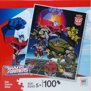 Transformers Animated 100 Piece Jigsaw Puzzle (46748 03)