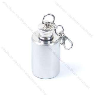 Mini Stainless Steel Alcohol Flask Liquor Bottle 1oz N