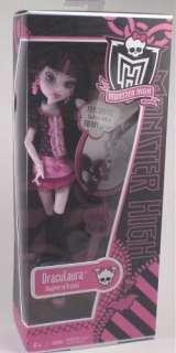 Daughter Of Frankenstein & Draculaura Monster High Barbie Doll