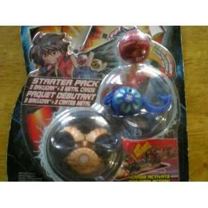 Bakugan ORIGINAL SERIES 1 Starter Pack with Tan Falconeer