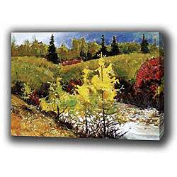 Landscape Mountain Autumn Giclee Print Canvas Art