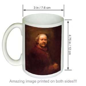 Artist Rembrandt Art COFFEE MUG Self Portrait