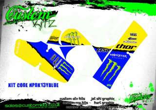 SUZUKI LT50 THOR MONSTER QUAD GRAPHICS   ATV   STICKERS LT 50 DECALS