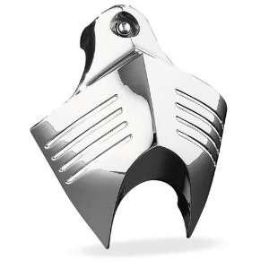 Kuryakyn Chrome V Shield Horn Cover For Most Harley 1992